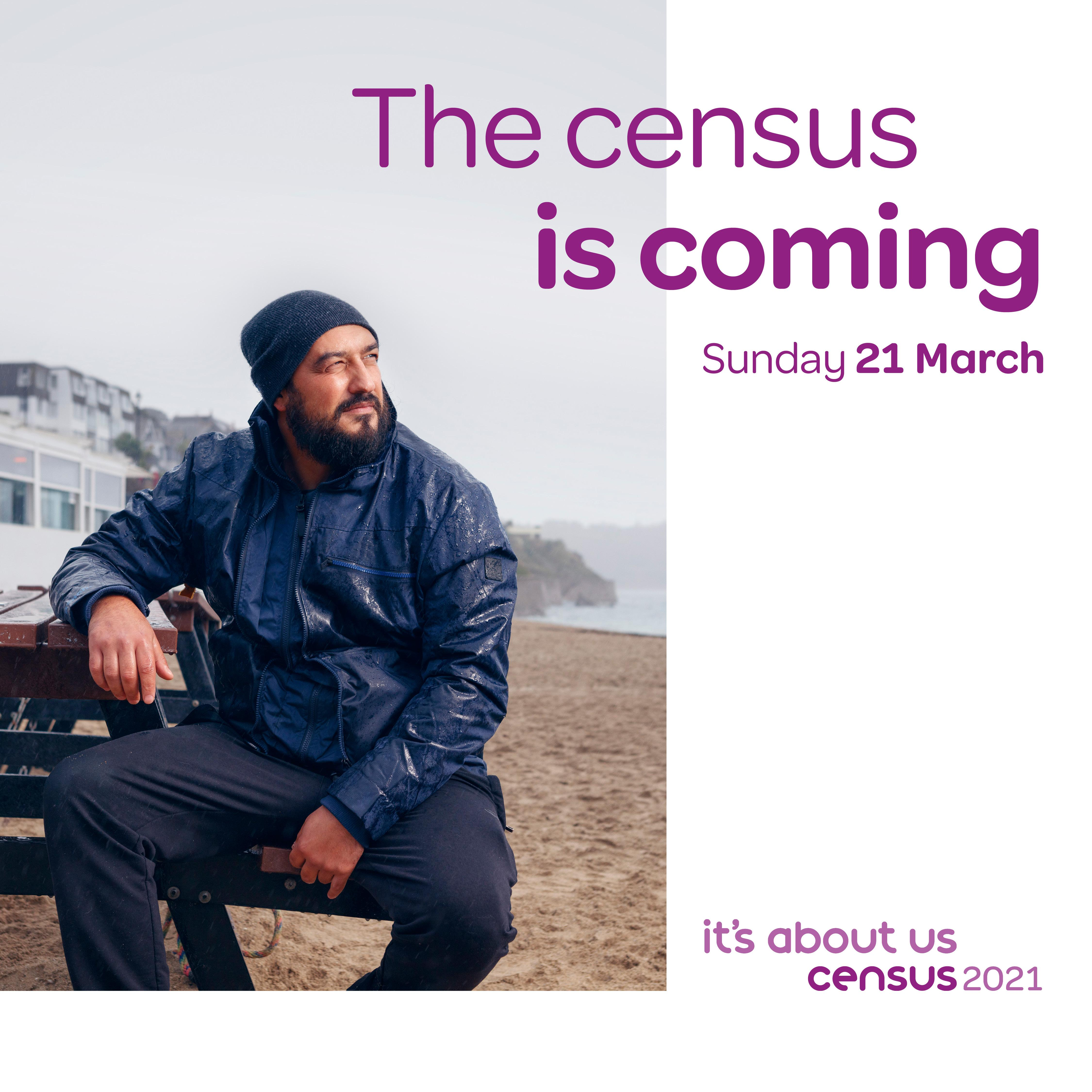 The Census is coming poster